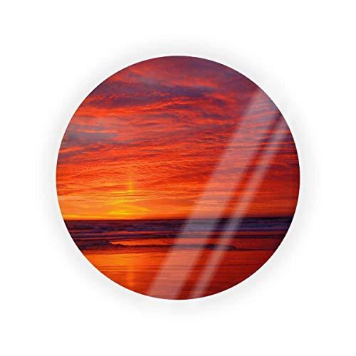 Crear su propia hermosa puesta de sol vacío cojín caja de cojín caja de maquillaje cosmético BB CC líquido crema base contenedor