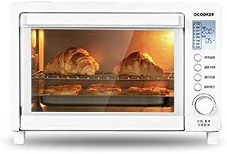 L.TSA Cocina Horno de 24L / 1600W Horno de Cocina Control de Temperatura doméstica LCD Horno Horno eléctrico Blanco Nuevo