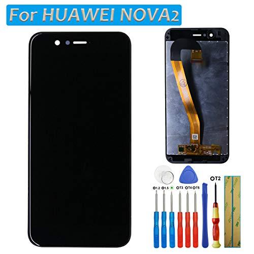 LCD Bildschirm Touchscreen Display Digitizer für Huawei Nova 2 Bildschirm Schwarz Glas + Werkzeuge