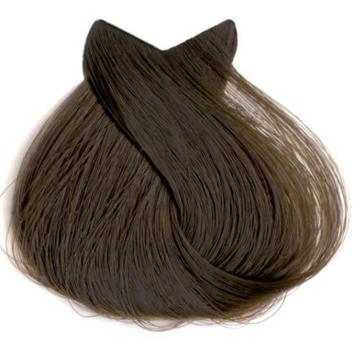 Tahe Organic Care Dauerhafter Farbstoff Haar-Farbe, Nein.5.35 Mahogany Golden Light Brown, 100 ml