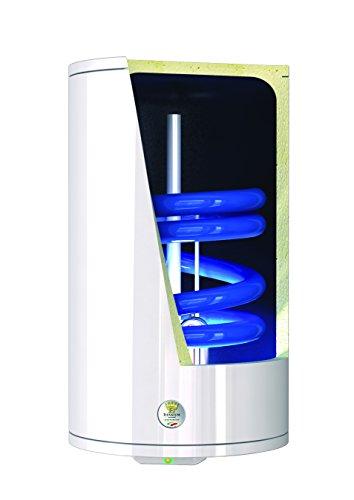 Bandini Braün ST-80 Scaldabagno Termoelettrico Cilindrico Verticale con Serpentina Attacchi DX/SX, Anodo di Magnesio e Valvola di Sicurezza, 1200 W, 2