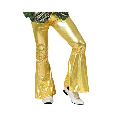 Atosa Pantalon Déguisement Disco Or
