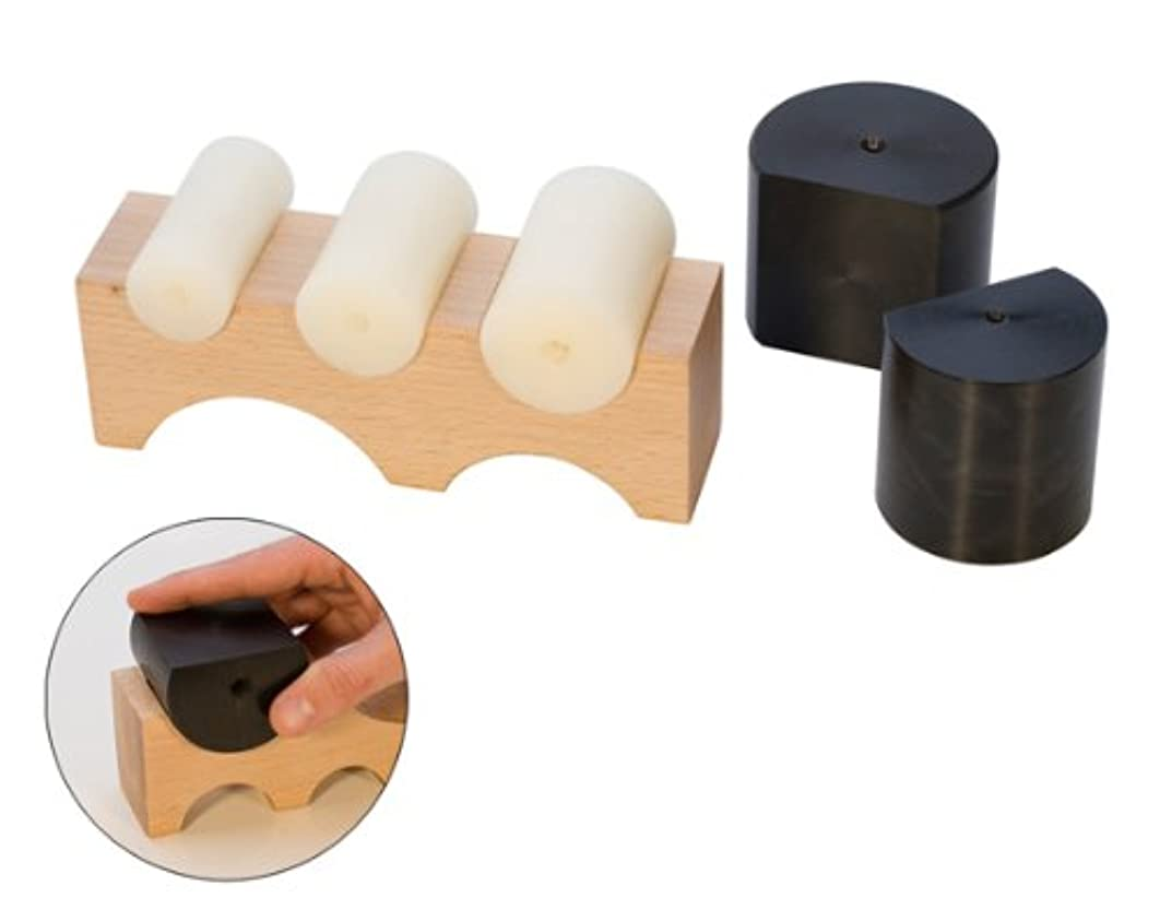 Large Wood Shaping Block with 5 Nylon Shapers, 7 by 1-7/8 by 2-3/8 Inches | DAP-145.00