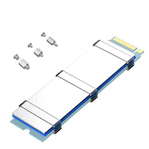 glotrends M.2 SSD Kit Viti di Montaggio e dissipatore M.2 per ASUS MSI Gigabyte ECC MB