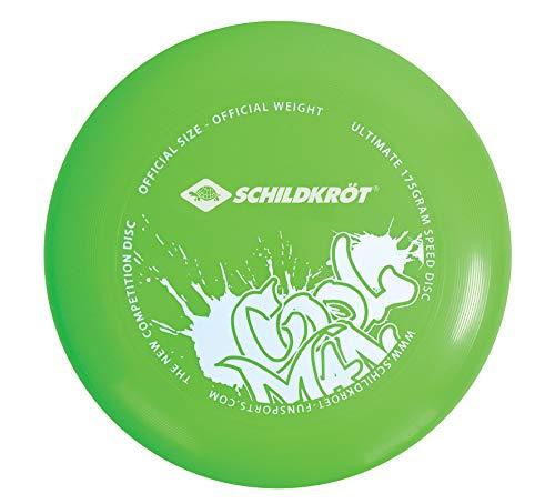 Schildkröt Funsports Ultimate Speed Disc, Disco Volador de Competición, 175 g, 27 cm de Diámetro, Verde, 970059
