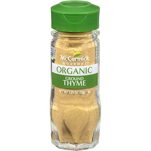 McCormick Gourmet, Ground Thyme, 1.25 oz