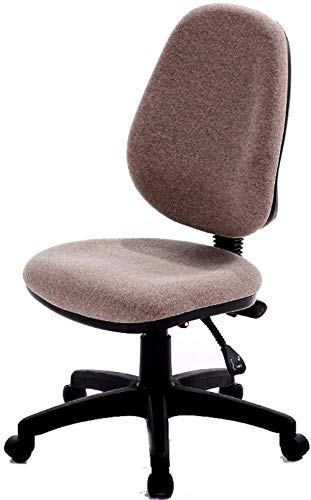 Las sillas de Escritorio, Silla de Oficina de tareas de Oficina Silla de la computadora de Espalda Baja Escritorio de la computadora for sillas de Ruedas giratorias Sillón (Color : Brown)