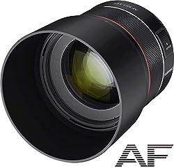 Samyang AF 85mm F1.4 F für Nikon F I leichtes & kompaktes Tele-Objektiv für Portrait-Aufnahmen, mit schnellem DSLM Autofokus I Festbrennweite für Spiegelreflex Nikon F Kameras, z.B.D5600, D850, D750