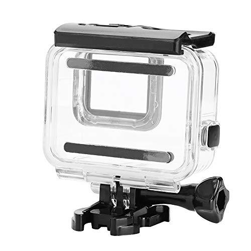 Custodia Impermeabile per Fotocamera, Custodia Robusta e Resistente Custodia Subacquea per Fotocamera per Gopro Hero 7 Silver White(Cover Touchable)