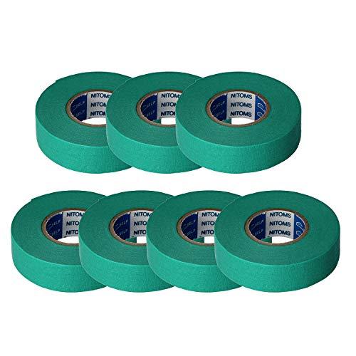 ニトムズ プロセルフ マスキングテープ粗面用 PT-5 養生 18mm×18m 7巻入 J8000 グリーン