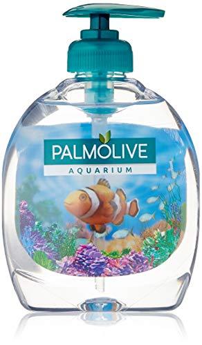 Palmolive Aquarium Flüssigseife Pumpe + Refill Vorteilspack, 6er Pack (6 x 300 ml)