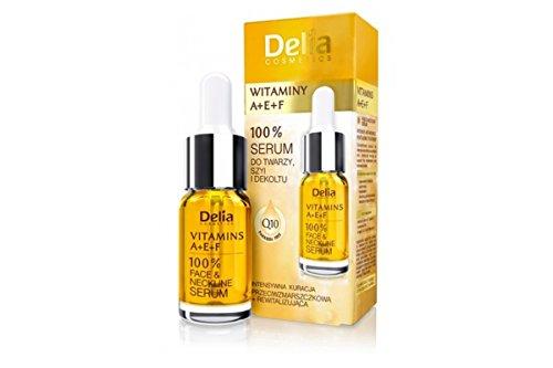 Siero Vitamine A + E + F Viso–Rivitalizza–Delia Cosmetics