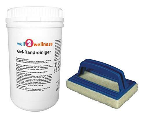 Poolreiniger - Gel-Randreiniger 1,0 kg plus Reinigungspad