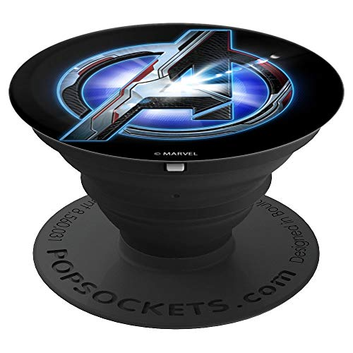 Marvel Avengers Endgame Tech Avenger Logo - PopSockets Grip and Stand for Phones and Tablets