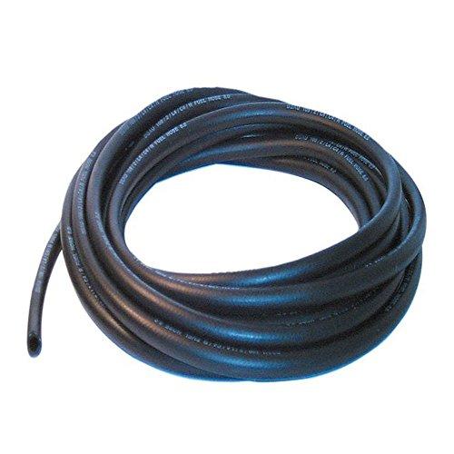 10mm ID schwarz 3Meter Länge Kraftstoff und ölbeständig Gummi Schlauch–autosilicon.