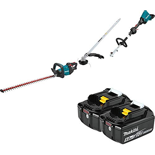 Lowest Prices! Makita XHU08Z 18V LXT Lithium-Ion Brushless Cordless 30 inch Hedge Trimmer and XUX01Z...