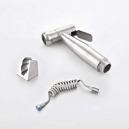 HYY-YY Kit de rociador de inodoro para bidé de mano – 304 de acero inoxidable bidé para inodoro compañero de bidé de cabeza de tambor