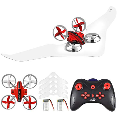 Gliding Drone, Supkiir Land and air Remote Control Quadcopter for Adult, Portable...