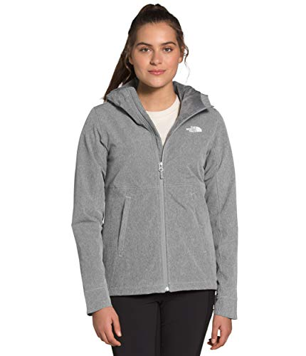 The North Face Shelbe Raschel - Sudadera con capucha para mujer, TNF, color gris medio, XS