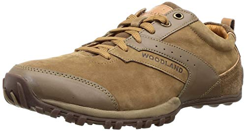 Woodland Men's Tobacco Leather Sneaker-8 UK (42 EU) (9 US) (OGC 2711117)