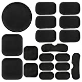 Aoutacc Universal Airsoft Helmet Pads, Helmet Replacement Foam Padding Kits Set Accessories Mats for Fast/Mich/ACH/USMC/PASGT Helmet (EVA Foam, Black)