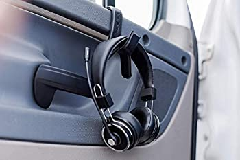 Blue Tiger Headset Hook - Hang Any Headset Anywhere - Headphones Holder – Portable Hanger for Hanging Headphones on Vehicle Desk Table & Wall