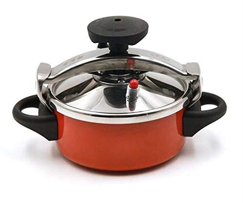 Cocina de presión Mini, Cocina de presión Steamer Acero Inoxidable 2L y Stockpot para Family Restaurant Cocina Cocina Pot Cocina Slow Steam Pot Adecuado para restaurantes, hoteles, todas las familias