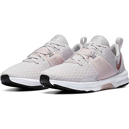 Nike Wmns City Trainer 3, Scarpe da Ginnastica Donna, Platinum Tint/Mtlc Red Bronze-Barely Rose-Mtlc Silver-Black-White, 40 EU