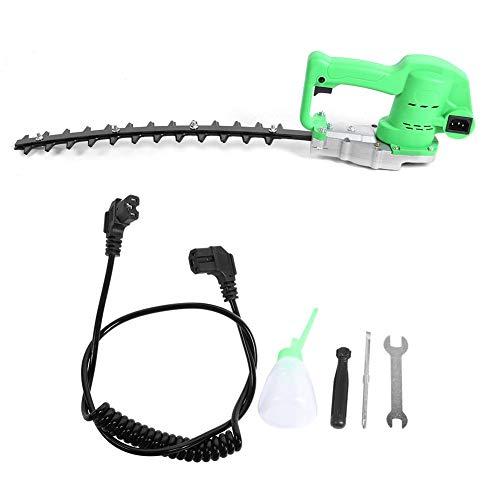 24V borstelloze DC heggenschaar Handheld elektrische heggenschaarmachine Tuinuitrusting voor tuin(Curved Blade)
