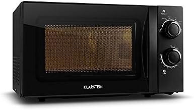 Klarstein 10027057 Encimera Solo - Microondas (Encimera, Solo microondas, 20 L, 700 W, Giratorio, Negro)