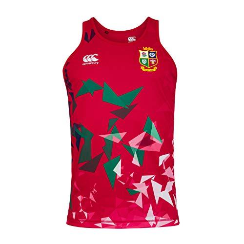 Canterbury Herren-Rugbyweste British and Irish Lions L Rot - Tango Red