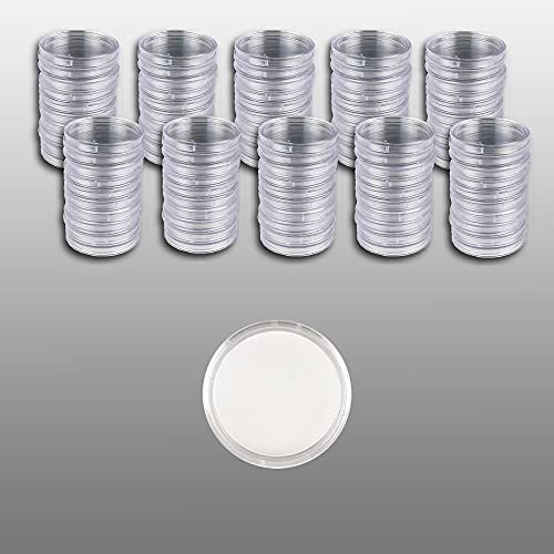 Prophila Cápsulas para Monedas diámetro 33 mm Paquete de 100