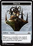 Magic: The Gathering - Emblem - Vraska, Golgari Queen - Guilds of Ravnica - Common