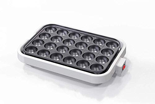 Máquina de hacer bolas de pulpo con 20/24 agujeros, sartén para hornear Takoyaki, máquina eléctrica Taiyaki, parrilla, horno japonés para pasteles, máquina para hacer bolas de carne, máquina de platos