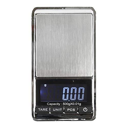 uu19ee Balanza De Pesaje Digital Portátil Led Retroiluminación Pantalla 200/500G X 0.01...