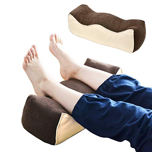 ottostyle.jp 低反発 大きな足まくら【ブラウン】幅55cm 足枕 足置き フットピロー リラックス ストレッチ