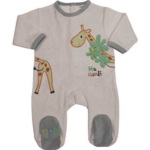 Les Chatounets Pyjama Girafe 23M rose