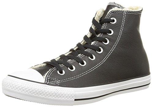 Converse Herren Ct Shear Lea Hi Hohe Sneakers, Schwarz (Noir/Blanc) 43 EU