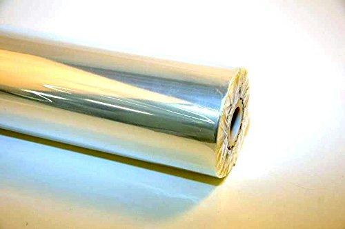 Klocke Dekorationsbedarf Zellglasfolie - Breite 50cm - Länge 200m - Farbe: Klar/Durchsichtig - Folie zum Verpacken - Blumen & Geschenkfolie