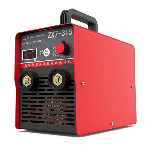 QWEASDF Saldatrice,Saldatrice a Filo,Industriale Grado Dual Tensione 220V 380V Dual-Should Selted Machine per saldatrice per Uso Domestico 10 Condensatore Multi-Board Saldatura a Una Tastiera