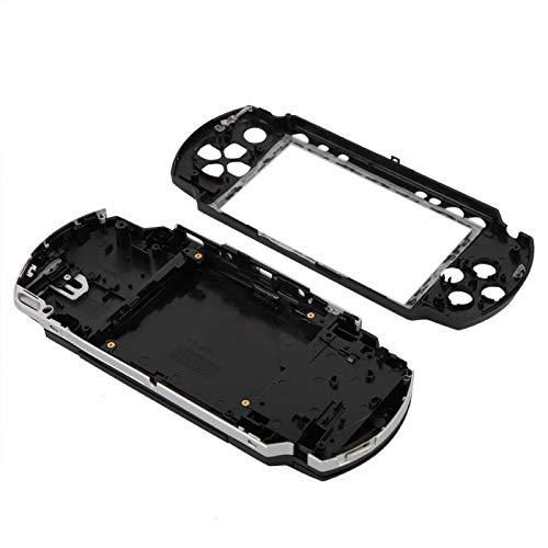 Capa de jogo PSP1000, todos os soquetes reservados EasyTo Change PSP 1000, capa de substituição para PSP1000, design de aparência é novo para capa de Game Shell Peripherals PSP1000 (preto)