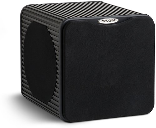 New Velodyne MicroVee 6.5-Inch Powered Subwoofer (Black)