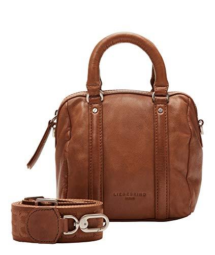 Liebeskind Berlin Handtasche, Oak Bowling Bag, Extra Small, caramel