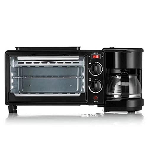 ZFQZKK 3 W 1 Elektryczne stacja śniadaniowa Śniadanie Maszyna do ekspresu do kawy Chleb Toster Patelnia PAN Mini Piekarnik Wielofunkcyjny Gospodarstwa Domowego Kuchnia Naczynia jajecznica super