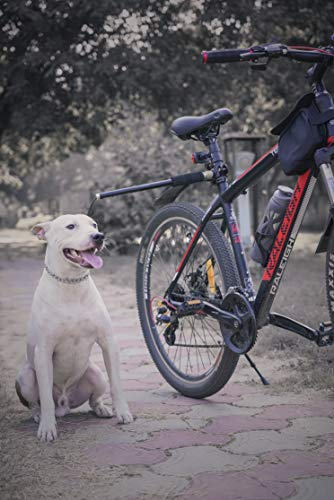Bikegear DogWalk Hands Free Dog Bicycle Exerciser Leash with 550-lbs Paracord