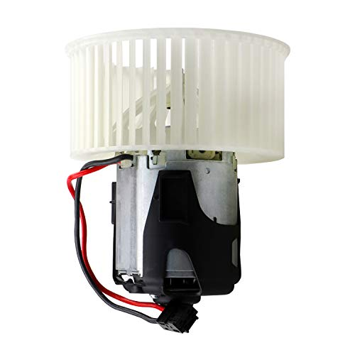Youxmoto Heater Blower Motor Replace 64119242607 AC Blower Motor With Fan Cage fit for 2011-2016 BMW 528i, 2012-2016 BMW 528i xDrive, 2014-2016 BMW 535d, 2011-2016 BMW 535i