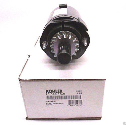 Kohler 20-098-10-S Lawn & Garden Equipment Engine Electric Starter Genuine Original Equipment Manufacturer (OEM) Part