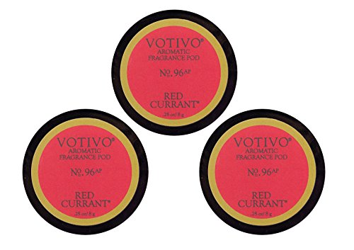 Votivo Fan Diffuser Aromatic Fragrance Pods - Red Currant