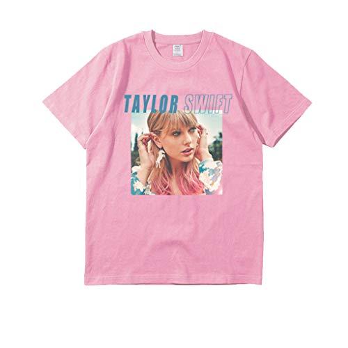 XXW Taylor Swift Clothes Nuevo Album ME! Hombres Y Mujeres con La Misma Marea Manga Corta Camiseta.
