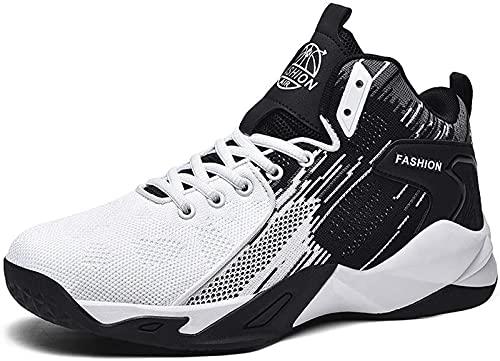 GAO Ayuda Transpirable Casual Multifunción Amortiguador Amortiguador Zapatos Deportivos Zapatillas De Correr Tendencia Zapatos De Baloncesto Zapatos De Baloncesto, White - 9